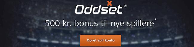 DanskeSpil bonus 500 kroner