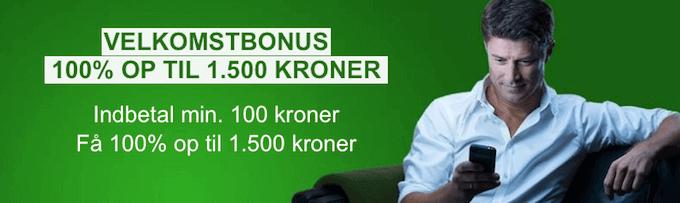 Aktivér Unibet bonuskode 2017