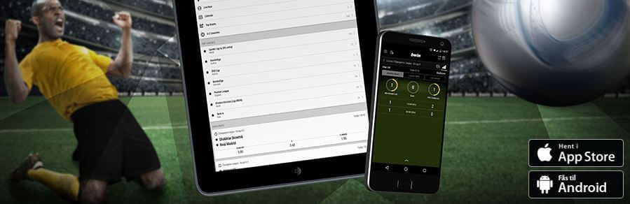 Prøv den nye bwin mobil app