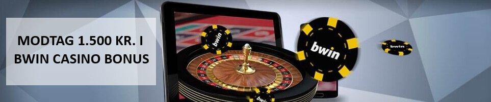 Få en flot bwin Casino bonus lige her