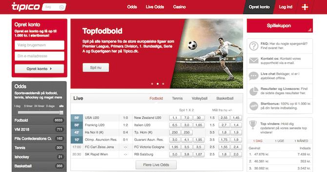 Tipico Bundesliga bookmaker
