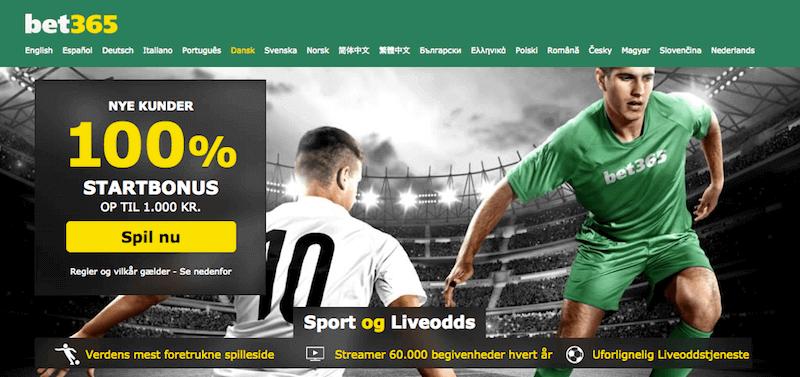 Premier League hos bet365