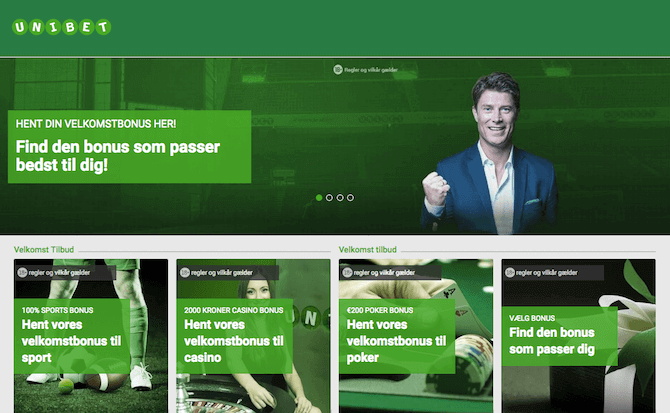 Unibet bookmaker til Europa League