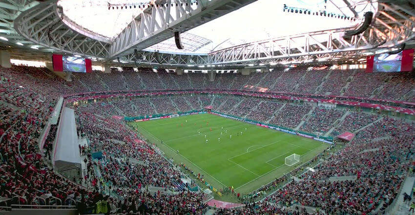 Krestovsky Stadion i Skt. Petersborg