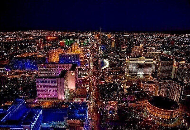 Verdens største casino byer - Las Vegas